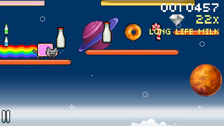 8bit Nyan Cat: Lost In Space screenshot-0