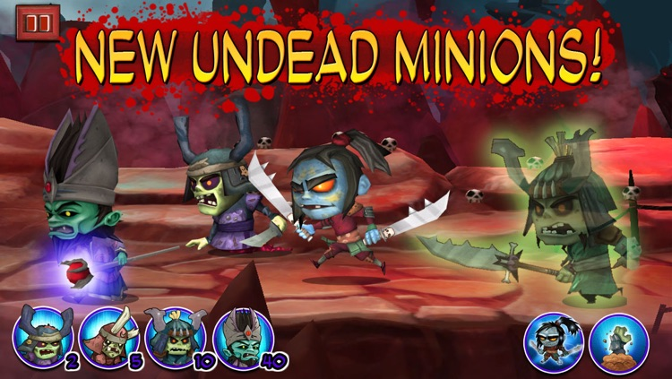 Samurai vs Zombies Defense screenshot-3