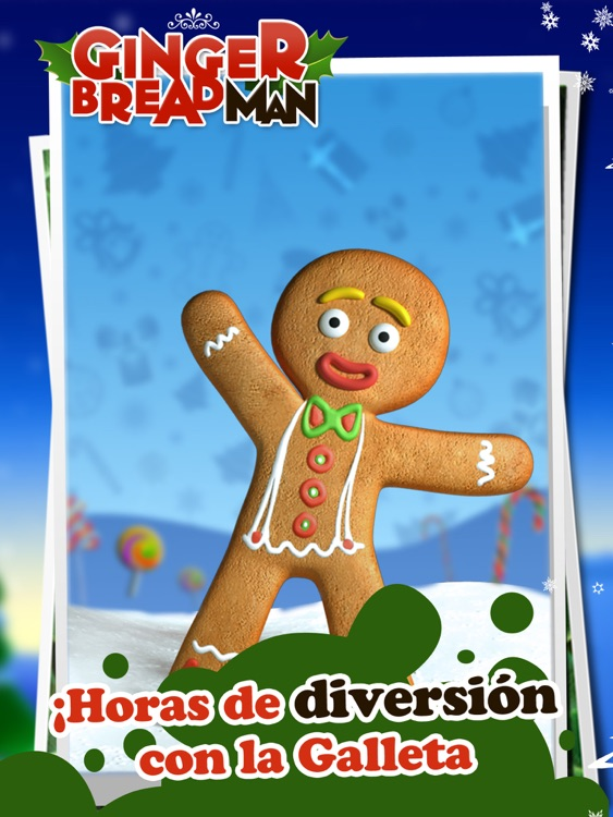 Talking Gingerbread Man HD screenshot-0