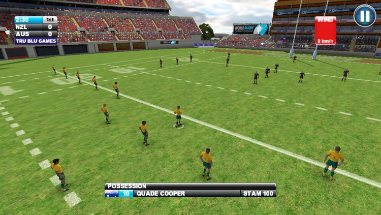 Jonah Lomu Rugby Challenge: Gold Edition screenshot-2