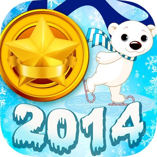 Кликер блестящей золотой медали 2014 - Веселая игра-френзи подсчета касаний