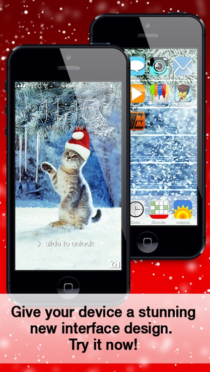 iTheme - Xmas Edition - Themes for iPhone, iPad and iPod Touch screenshot-4