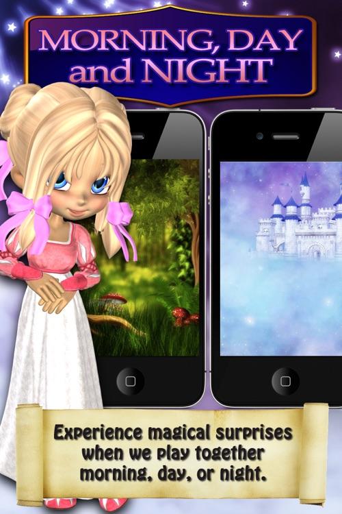 Sleeping Beauty Princess Diary Free - Fun Girl Talking App for iPhone & iPod Touch screenshot-3