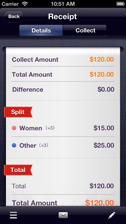 SpliTron - Bill Splitter and Tip Calculator screenshot-3