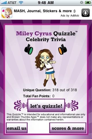 Miley Cyrus Quizzle™