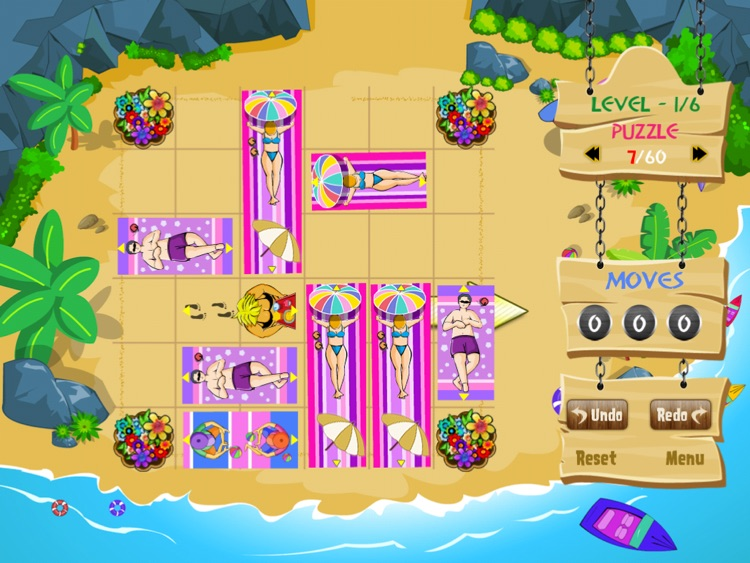 Get me out of the beach HD FREE , the hot summer traffic and puzzle game screenshot-4