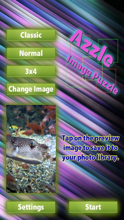 Azzle - Image puzzle