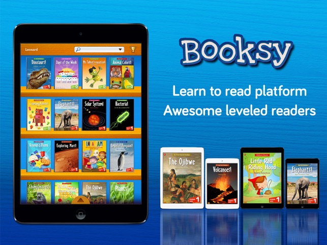 ‎Booksy: Learn to Read Platform for K-2 on the App Store