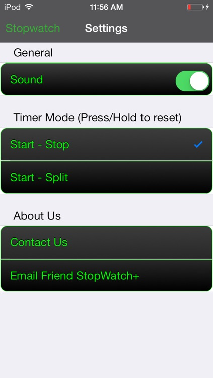 StopWatch + Timer and Stop Watch for the Gym, Kitchen, Math, Study, School, and Classroom Timing screenshot-4