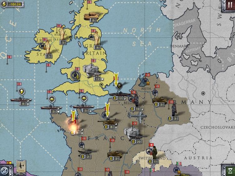 European War 2 for iPad screenshot-4