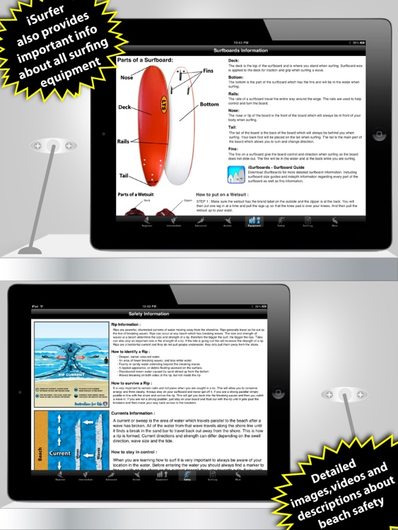 iSurfer - Surfing Coach for iPad screenshot-4