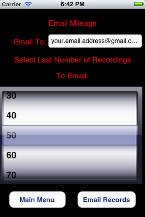 Business Mileage Recorder