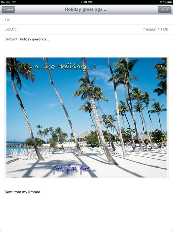 Photos with Label - for iPad screenshot-3