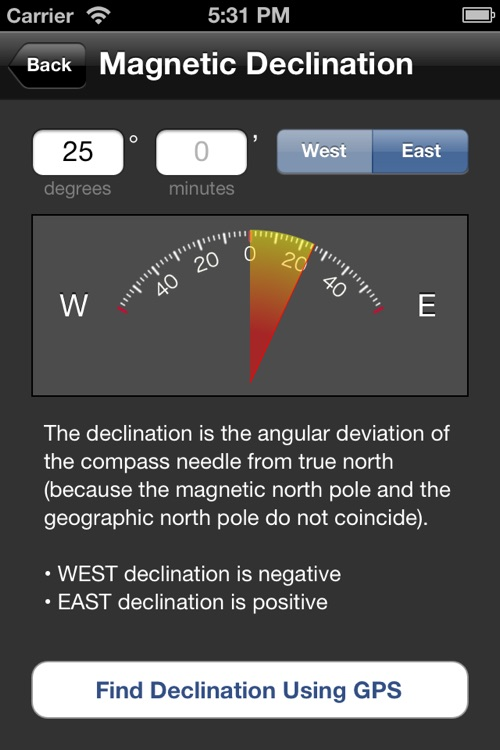 Orienteering Compass screenshot-2
