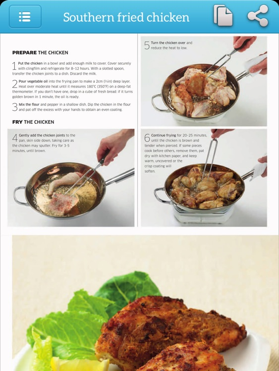 Cooking Step by Step - TK Photo Cookbook for iPad screenshot-3