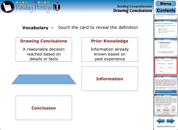 Reading Comprehension - Common Core screenshot-2