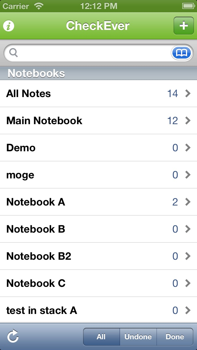 Screenshot #3 pour CheckEver for Evernote