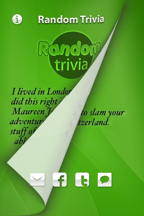 Random Trivia screenshot-4