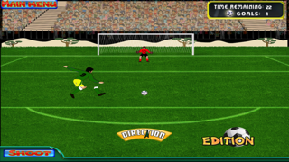 Brazil Cup Flick Football Striker : Penalty Shoot Out screenshot one