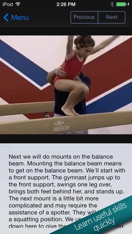 Learn Gymnastics for Kids screenshot-3