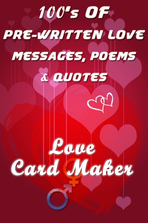 Love card maker send romantic photo ecard with best quotes and iphone screenshots m4hsunfo