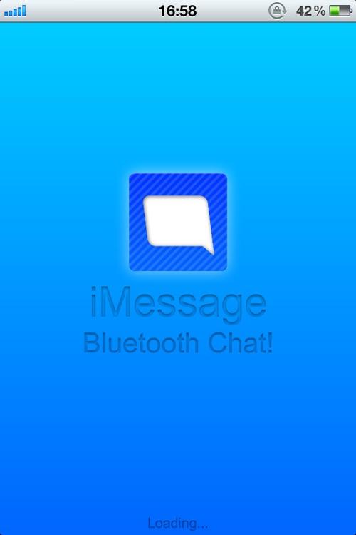 iMessage - Bluetooth Message!