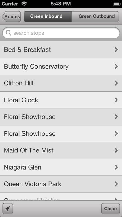 Transit Stop: WEGO Niagara Falls Bus Tracker screenshot-4