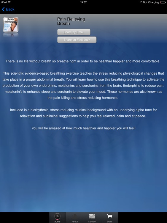 Pain Relieving Breath for iPad screenshot-1
