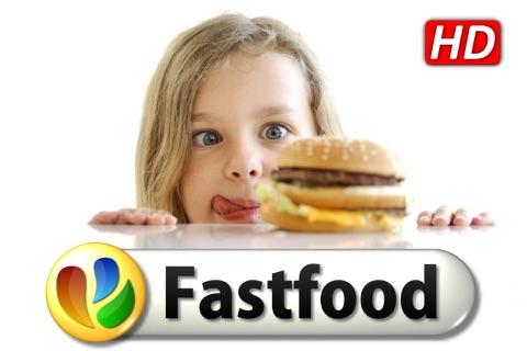Fastfood HD - 100 Rezepte für Burger & Co screenshot 1