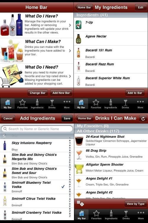 InMyBar - Drink & Cocktail Recipes screenshot-0