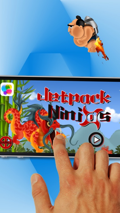 Jetpack Ninjas screenshot-4