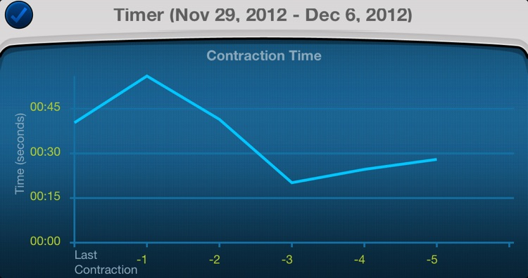 Contractions Counter: pregnancy contraction timer screenshot-4