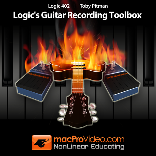 Course For Logic's Guitar Recording Toolbox