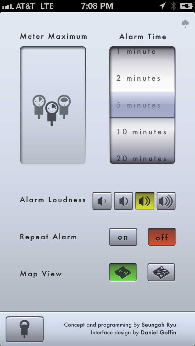 Screenshot #10 for Honk - Find Car, Parking Meter Alarm and Nearby Places