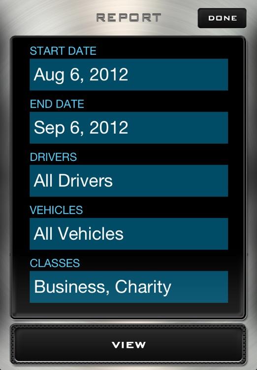 Mileage Log - Driving Distance Tracker screenshot-3