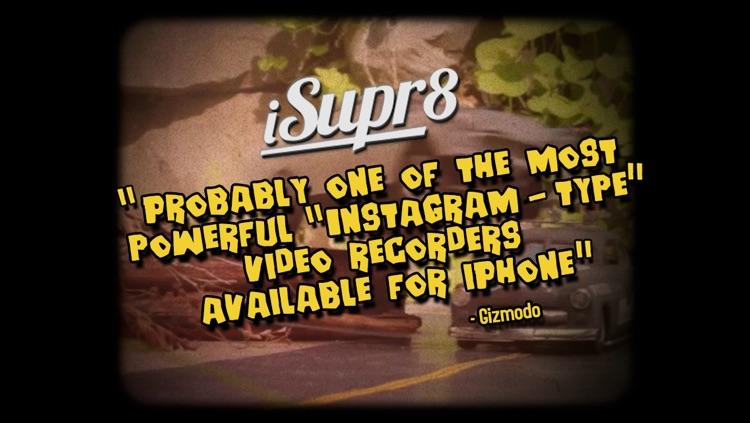 iSupr8 - Super 8mm HD Vintage Video Camera