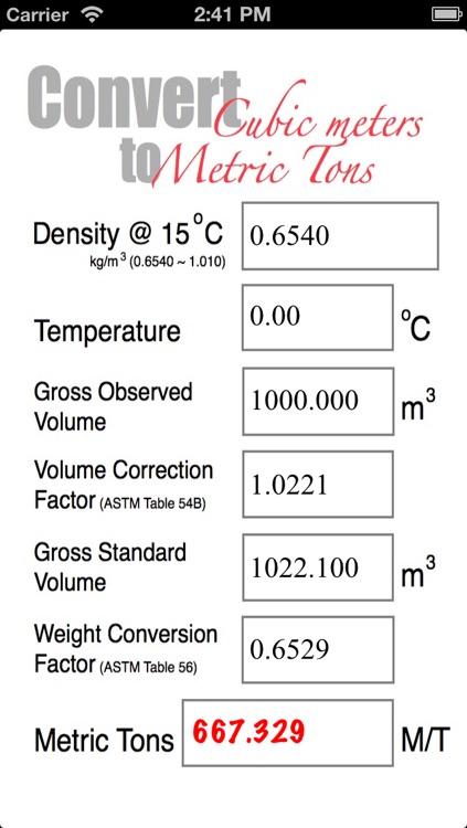 Marine Fuel Calculator by JoeChua