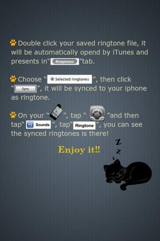 Ringtones Maker - Make Ringtones from your Music Library Скриншоты6