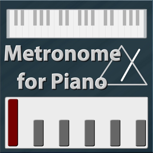 Metronome for piano icon