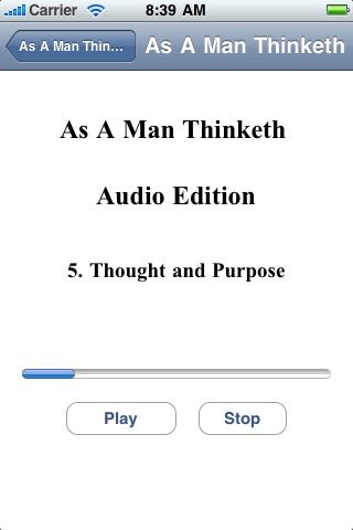 As A Man Thinketh - Audio Edition screenshot-3