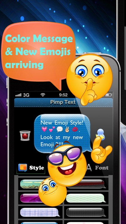 PIMP YOUR TEXT - COLOR MESSAGES WITH EMOJI 2