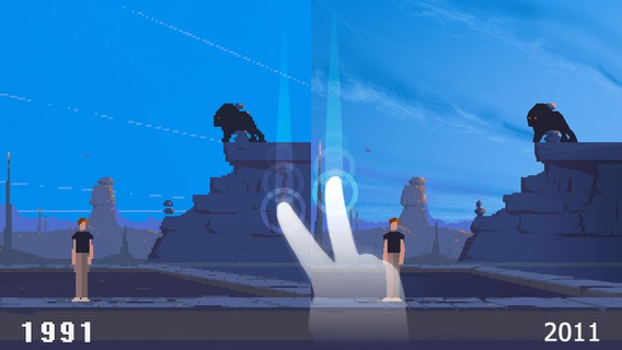 Another World - 20th Anniversary Screenshot