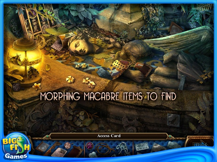 Macabre Mysteries: Curse of the Nightingale Collector's Edition HD screenshot-3