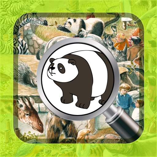 At the zoo (Hidden Objects for Kids)
