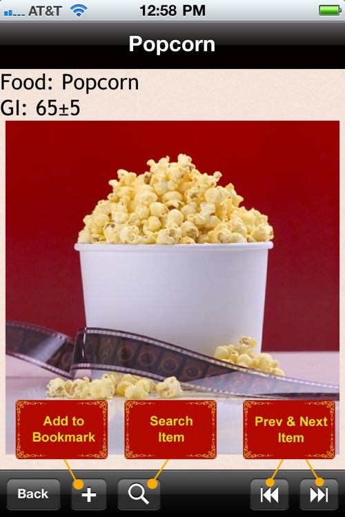 Glycemic Index Food List 2500+ screenshot-4