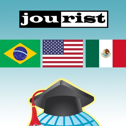 Trener Słownictwa Jourist. Ameryka