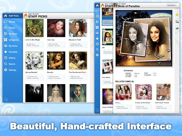 imikimi HD Photo Frames & Effects screenshot-3