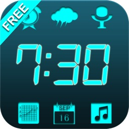 Free 6 in 1 News Clock Radio Set