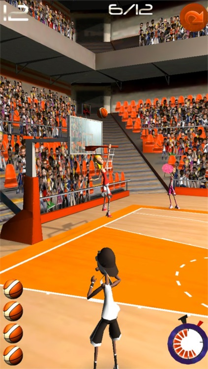 Basketball Shooting Stars screenshot-2