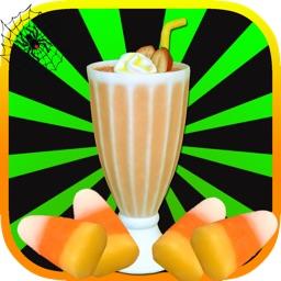 Spooky Milkshake Dessert Maker - Fun Halloween Game for Kids, Girls, Boys